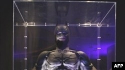 "U.S. -- View of a Batman figure at the after party for the world premiere of ""The Dark Knight"" in New York City, 14Jul2008"