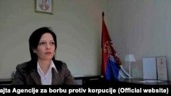 Tatjana Babić, foto sa zvaničnog sajta Agencije za borbu protiv korpucije