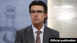 Испанияның отставкаға кеткен өнеркәсіп министрі Хосе Мануэль Сориа.