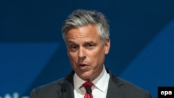 Former Utah Governor Jon Huntsman has reportedly been asked to be U.S. ambassador to Moscow. (file photo)