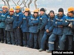 Мигранты из Центральной Азии в России.