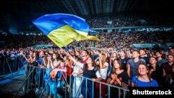 Під час концерту «Українська пісня / Ukrainian Song Project». Львів, 26 серпня 2017 року (Ілюстраційне фото)