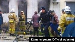 Работа пожарных, иллюстрационное фото