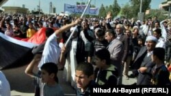 Iraq - Demonstration of Turkoman people in Taze, Kirkuk, 30Mar2013