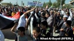 Iraq - Demonstration of Turkoman people in Taze, Kirkuk, 30Mar2013