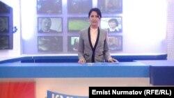 Kyrgyzstan. Osh. Television OshTV prosecuted. February 1, 2014
