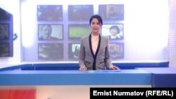 "Передача ""Кунчабыт"" на телеканале ""ОшТВ"". Иллюстративное фото."