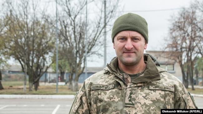 Николай Палас, командир разведроты 25-й бригады ВСУ в 2014 году
