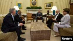 الرئيس الأميركي باراك أوباما يناقش الشأن العراقي مع كبار أعضاء الكونغرس