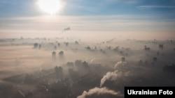 Смог у Києві, архівне фото