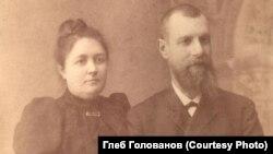 Георгий Голованов с супругой