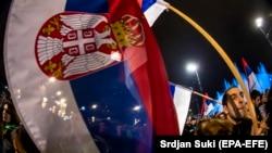 """Sa protesta """"Jedan od pet miliona"""", Beograd"""