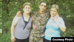 Armenia - Tigran Hambardzumian, a 19-year-old soldier who was found dead near military unit on 29Jun2011.