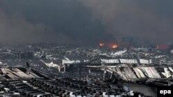 12 серпня 121 людина загинула в результаті серії вибухів і пожежі на складі хімікатів в порту Тяньцзінь