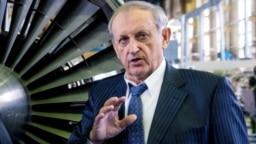 Директор компанії «Мотор Січ» В'ячеслав Богуслаєв, один з ініціаторів продажу більшості акцій компанії китайським інвесторам