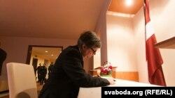 Амбасадар Брытаніі Брус Бакнэл