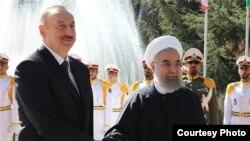 İlham Əliyev və Hassan Rouhani Tehranda
