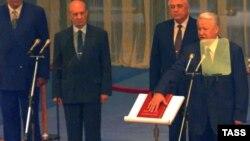 Инаугурация Бориса Ельцина, Большой Кремлевский дворец, 9 августа 1996 года