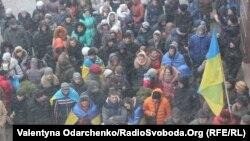 Євромайдан у Рівному, 6 грудня 2013 року