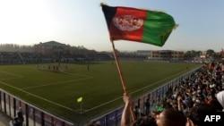 Ауғанстан-Пәкістан футбол матчы. Кабул, 20 тамыз 2013 жыл.