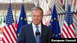 Donald Tusk, Brisel, 25. maj 2017.