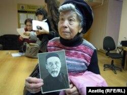 Мөхәммәт Ибраһимовның кызы Мөслимә Ибраһимова Рәүф Хәсәновка әтисенең фотосын күрсәтте