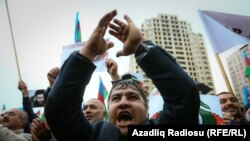 Бакудагы митинг, Азербайжан