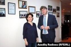 Arifə Kazımova və Michael McNamara