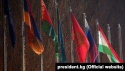 Флаги стран-членов ОДКБ