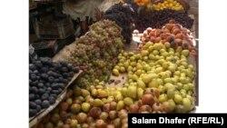 معروضات في سوق ميسان