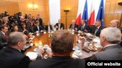 La summitul Parteneriatului estic de la Varșovia