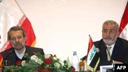 السامرائي ولاريجاني في بغداد