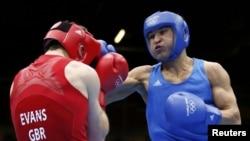 Серік Сәпиев Лондон олимпиадасының финалында, Лондон, 12 тамыз 2012 жыл