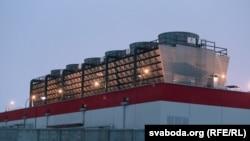Завод беленай цэлюлёзы каля Сьветлагорску