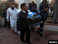 Эксгумация останков Сальвадора Альенде. 23 мая 2011 года