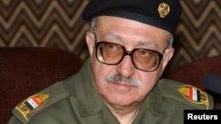 Ирактың бұрынғы басшысы Саддам Хусейннің серіктерінің бірі болған Тарик Азиз. Бағдад, 25 ақпан 2003 жыл.