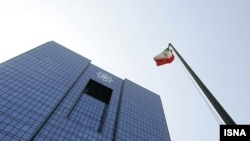 A U.S. Treasury Department statement says the move expands the scope of sanctionable transactions with the Central Bank of Iran (pictured) and other financial institutions.