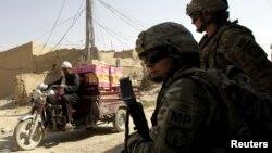 Американские солдаты в Афганистане. Иллюстративное фото.
