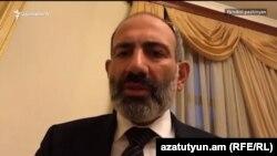 Прем'єр-міністр Вірменії Нікол Пашинян, Єреван, 10 травня 2018 року