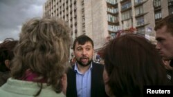 دنیس پوشیلین، رهبر جدایی طلبان شهر دونتسک