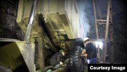 Rudari u rudniku Trepča