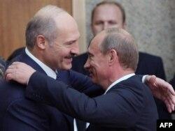 Predsednici Rusije Vladimir Putin i Belorusije Aleksandar Lukašenka, arhivska fotografija
