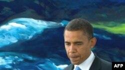 باراک اوباما، نامزد حزب دمکرات برای انتخابات رياست جمهوری آمريکا، می گوید در صورت شکست دیپلماسی، احتمالا اسرائیل به ایران حمله خواهد کرد. (عکس از AFP)