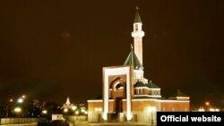 Мечеть на Поклонной горе в Москве.