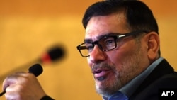 Ali Shamkhani, the secretary of Iran's Supreme National Security Council.