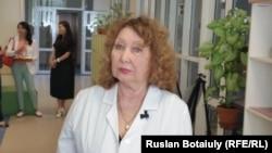 Профессор из Казани Валида Исанова. Астана, 24 июля 2015 года.