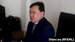 Руководитель управления здравоохранения по Южно-Казахстанской области Мукан Егизбаев, 27 февраля 2017 года.