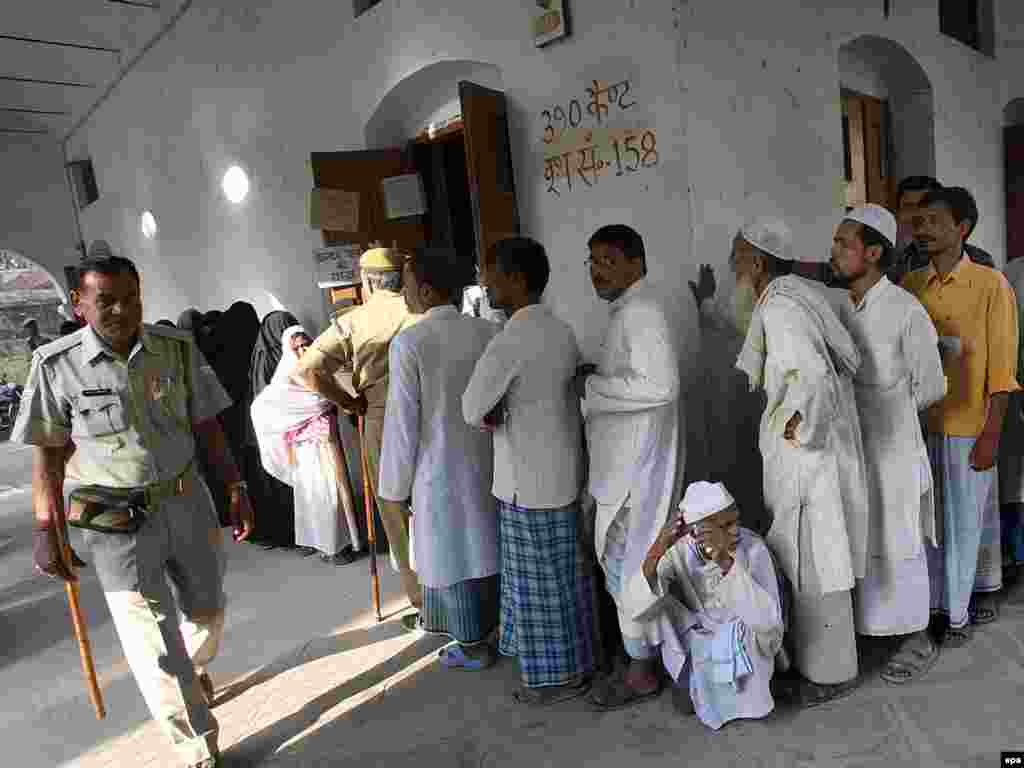 В Индии начались парламентские выборы