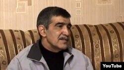 Координатор Общественного альянса «Азербайджан без политзаключенных», бывший «узник совести» Эльшан Гасанов, 2012