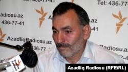 Неймат Панахлы в студии РадиоАзадлыг, Баку, 30 сентября 2010